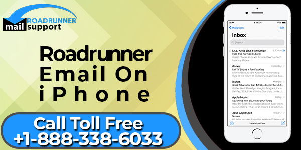 Roadrunner Email On iPhone | Roadrunner Email Phone Number