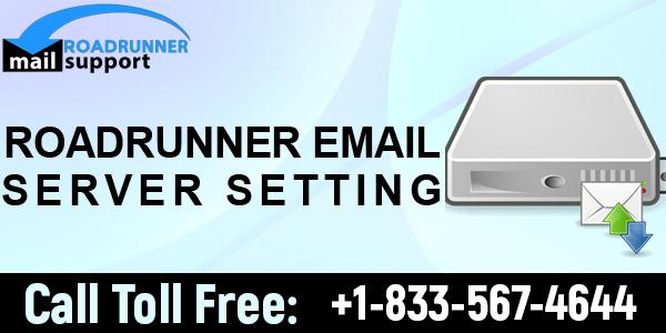Roadrunner email server settings