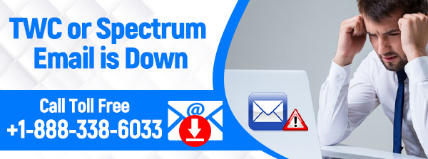 Twc or spectrum email is down