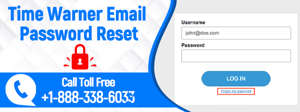 Time warner email password reset