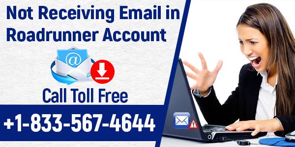 Not Receiving Email in Roadrunner