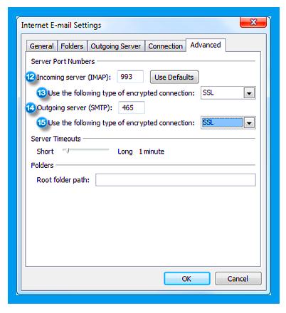 Spectrum email server settings