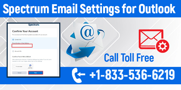 spectrum email settings for outlook