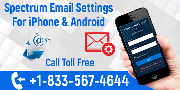 Spectrum Email Settings for iPhone
