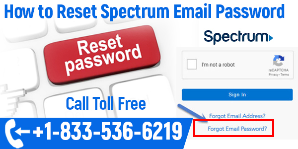 spectrum email password reset