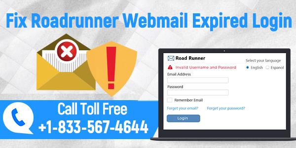 Roadrunner Webmail Expired Login Problem