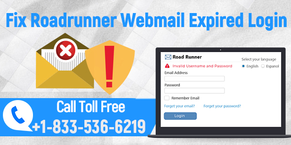 Roadrunner Webmail Expired Login Problem