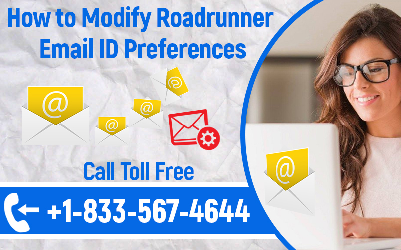 Modify Roadrunner Email ID Preferences