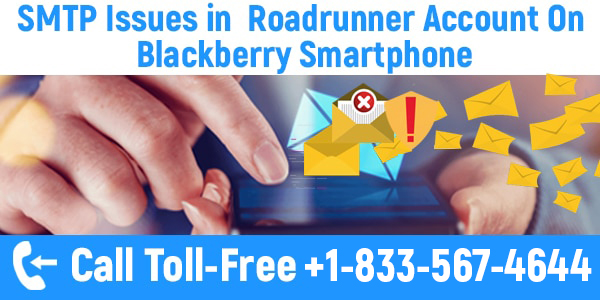 Roadrunner Account On Blackberry Smartphone