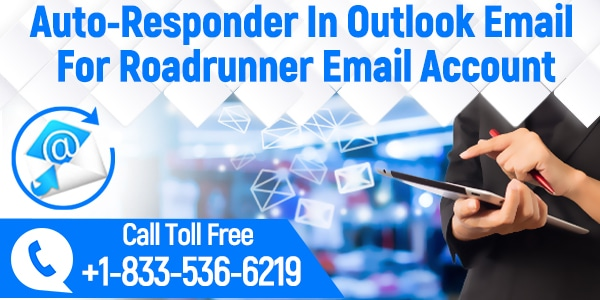 Auto-Responder' In Outlook Email For Roadrunner Email Account?