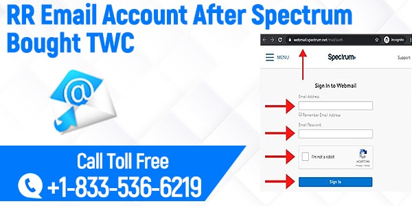 Create A New RR Email Account After Spectrum Bought TWC
