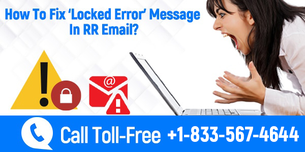 Locked Error Message In RR Email