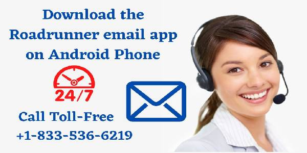 Download the Roadrunner email app on Android Phone