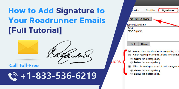 Add Signature to Your Roadrunner Emails [Full Tutorial]