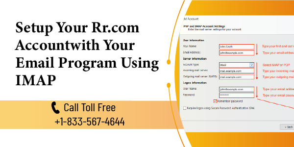 Setup Your Rr.com Account with Your Email Program Using IMAP