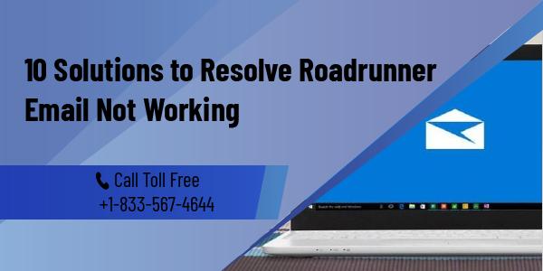 Roadrunner email not working