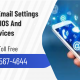 Spectrum Email Settings For IOS