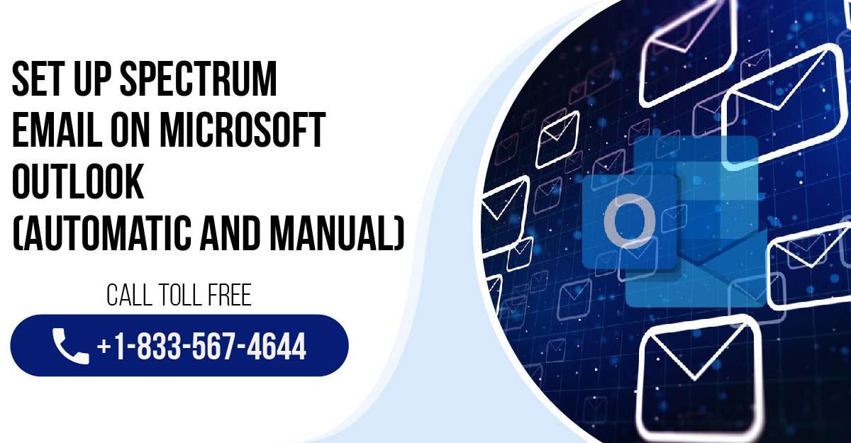Set Up Spectrum Email on Microsoft Outlook