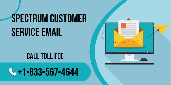 spectrum customer service email